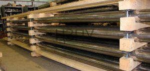 Колонны УЭЦН до нанесения защитного покрытия