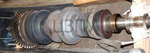 ремонт ротора турбины компрессора