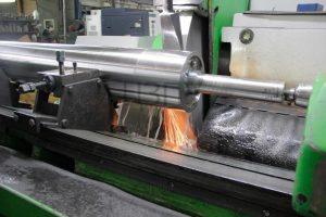 ремонт ролика линии производства кровельных материалов