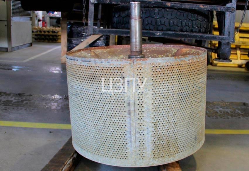 восстановление шейки стирального барабана